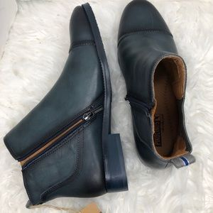 PIKOLINOS Shoes - Pikolinos Royal Gore Leather Zip Boots Bootie Blue